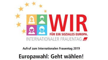 Internationaler Frauentag 2019
